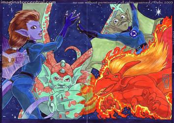 Fantastic Four? by syrusbLiz