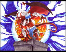 Phoenix Warrior by syrusbLiz