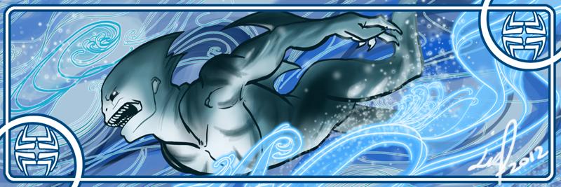 Villainous Elements: Water sketch by syrusbLiz