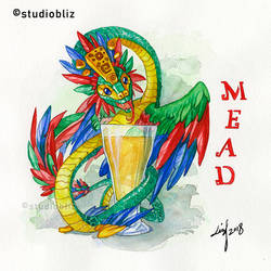 Drachtoberfest Mead by syrusbLiz