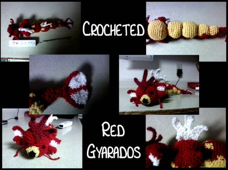 crochet red gyarados