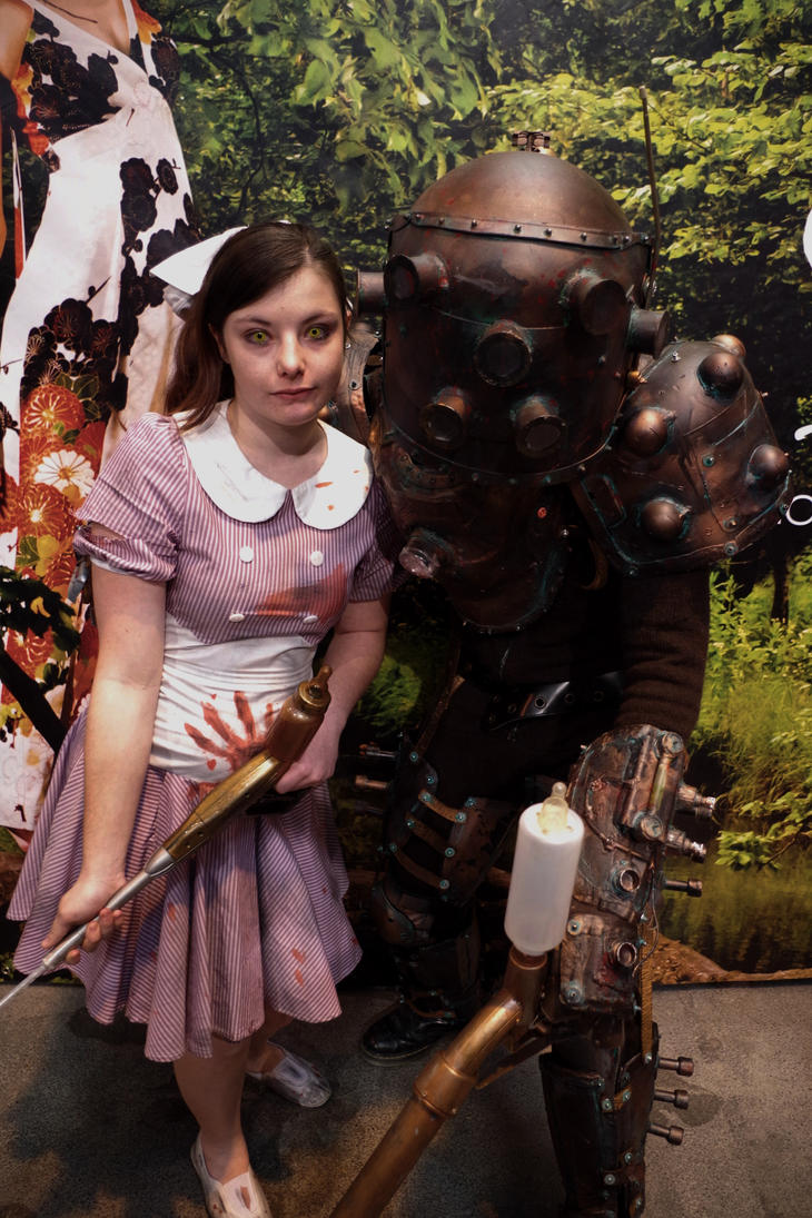 My little sister cosplay from Bioshock by MoreenBaker