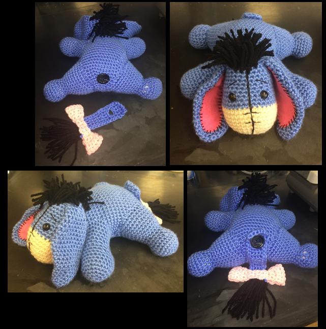 Crochet Amigurumi Eeyore : Eeyore Crochet Pattern by Skestes on DeviantArt