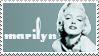 Marilyn Monroe Stamp by vicexversa