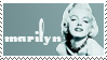 Marilyn Monroe Stamp by vicexversa