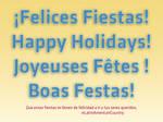 Felices Fiestas by vicexversa