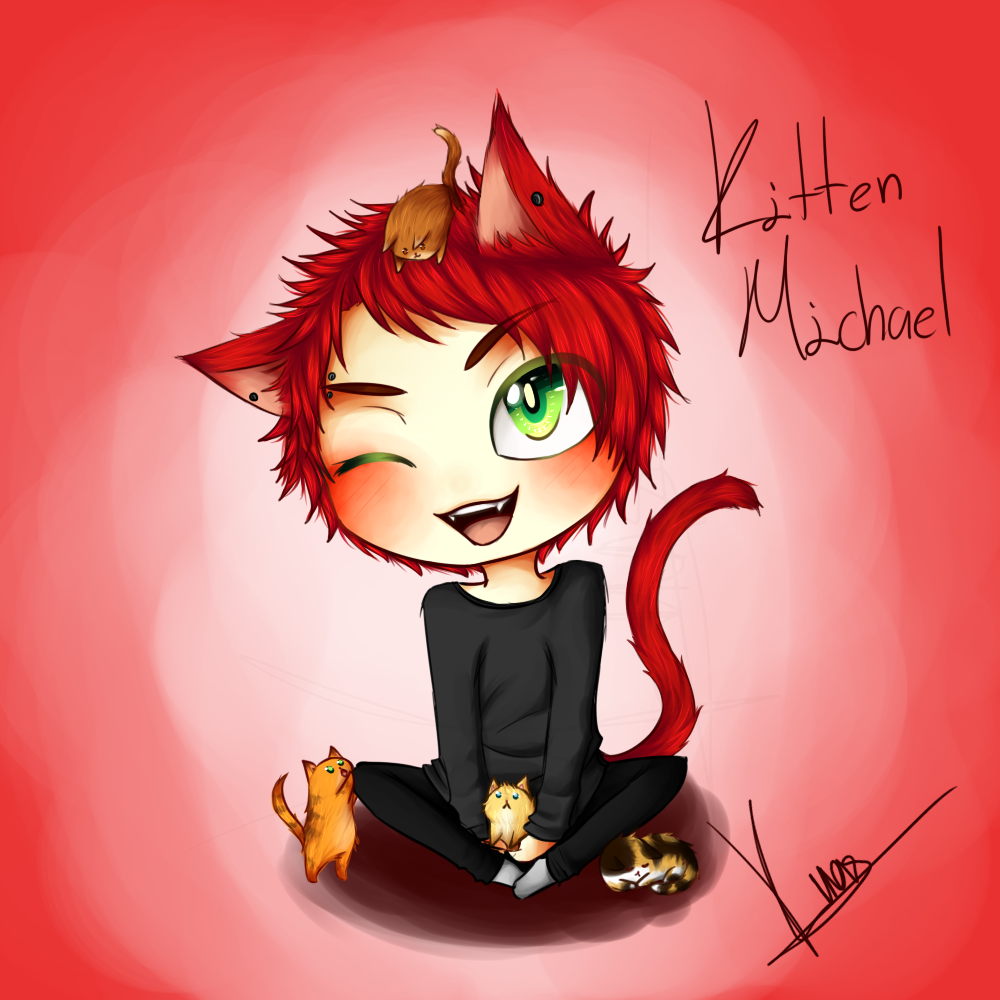 [5sos] Kitten!Michael by TheCruelAngel on DeviantArt