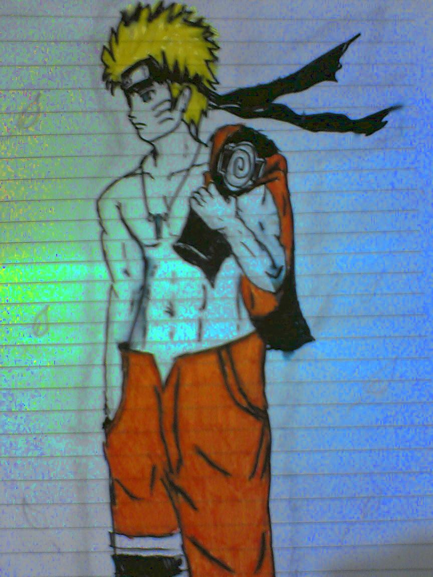 Naruto Uzumaki Shirtless by Mr-Astroboy on DeviantArt
