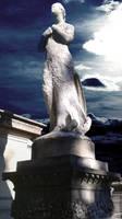Faceless Statue -Cimetiere du Pere-Lachaise, Paris