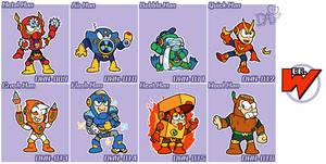 Robot Masters of Megaman2