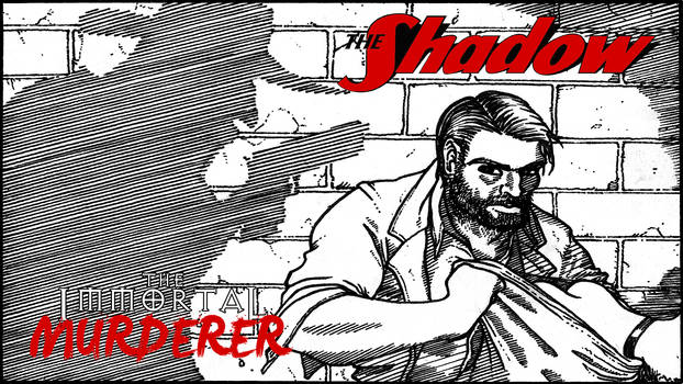 The Shadow: The Immortal Murderer (Title Card)