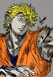 RYO SKETCH - Street Fighter