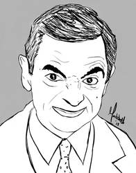 Mr Bean Sketch