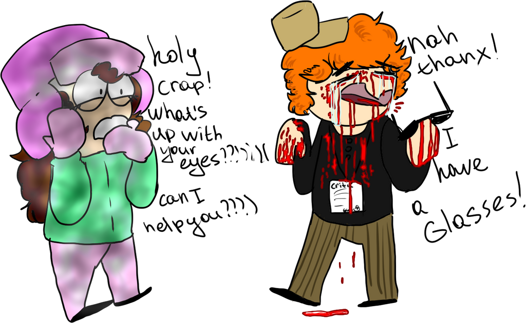 P1.P2. The first patient. by SouthParkSueCritic