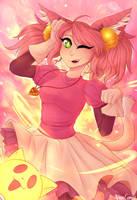 Mew Mew Kissy Cutie! by MirageComet