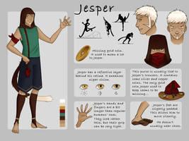Hetherev : Jesper by Little-Red-Fox