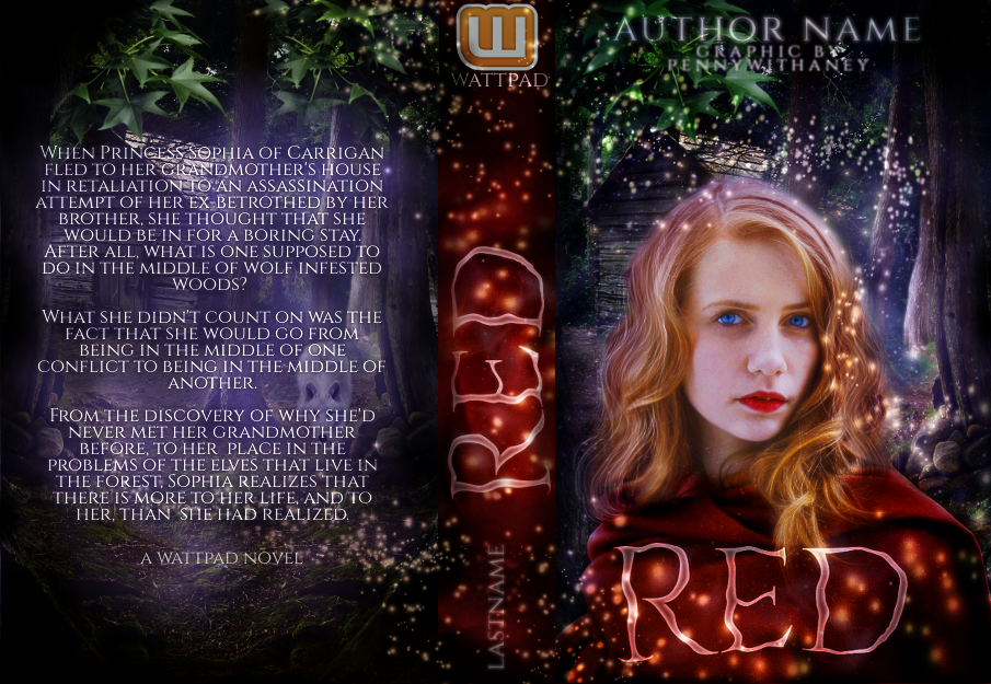Red (A Fake Wattpad Book Jacket) by Pennywithaney on DeviantArt