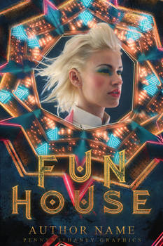 Funhouse [premade book cover and contest entry]
