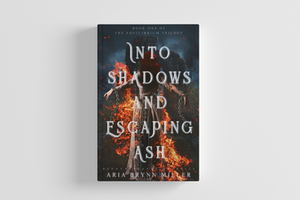 Into Shadows and Escaping Ash [wattpad cover] by Pennywithaney