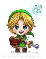 Chibi Link by cruelcomplex
