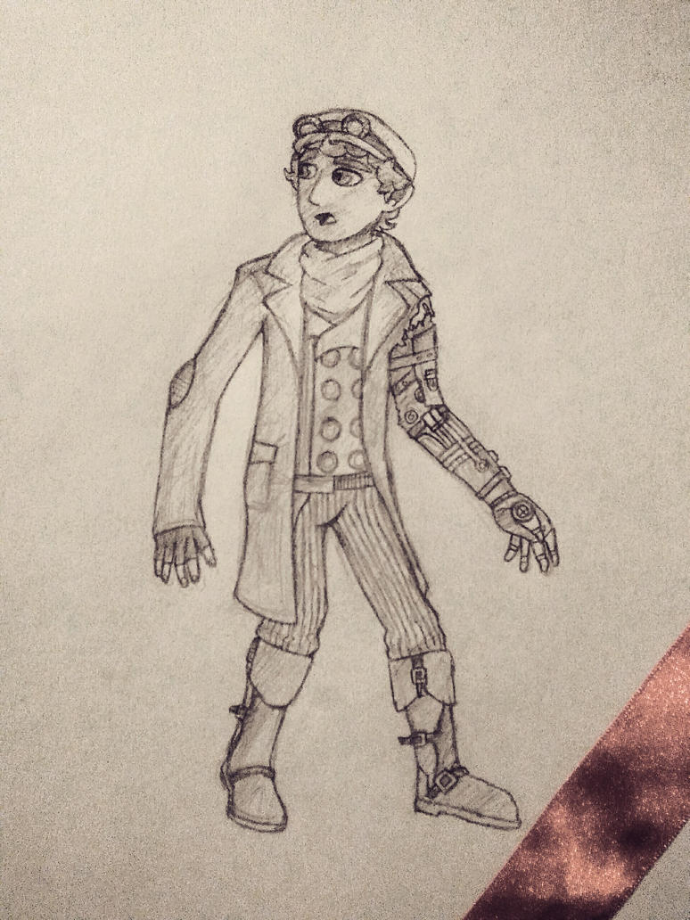 Steampunk Character Design #001 by Codakose