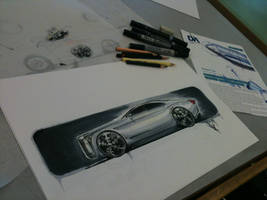 Classic car design by talhakabasakal