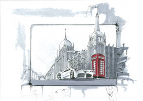 London view by talhakabasakal