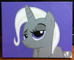 Grayscale Trixie by mittens2248