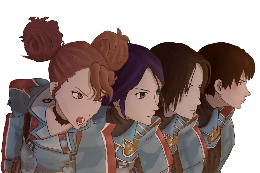 Valkyria Chronicles : Sisters by Fredyochu