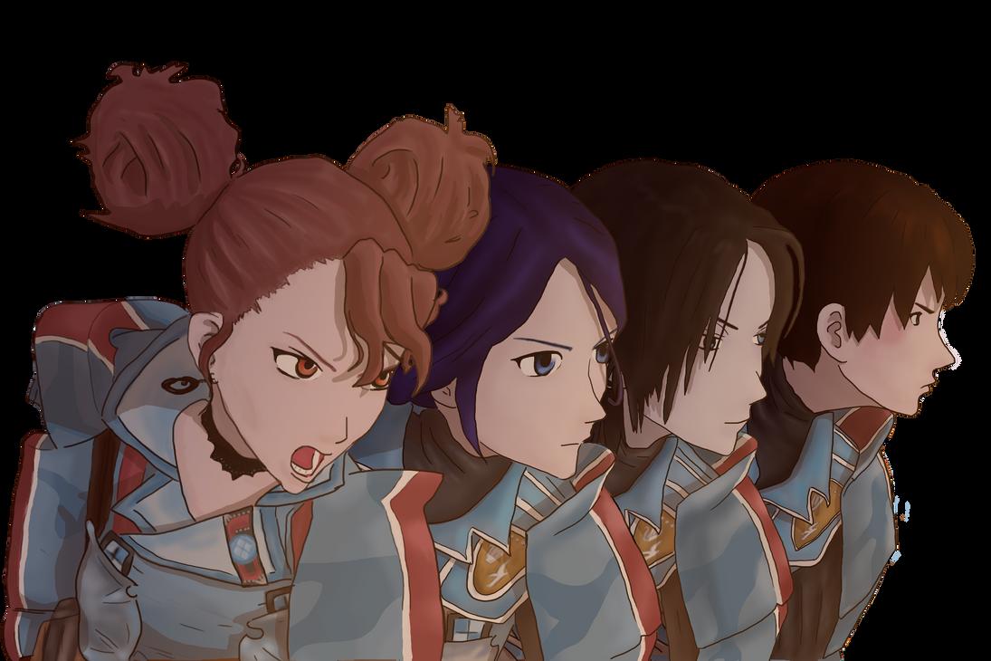 Valkyria Chronicles : Sisters by Fredyochu