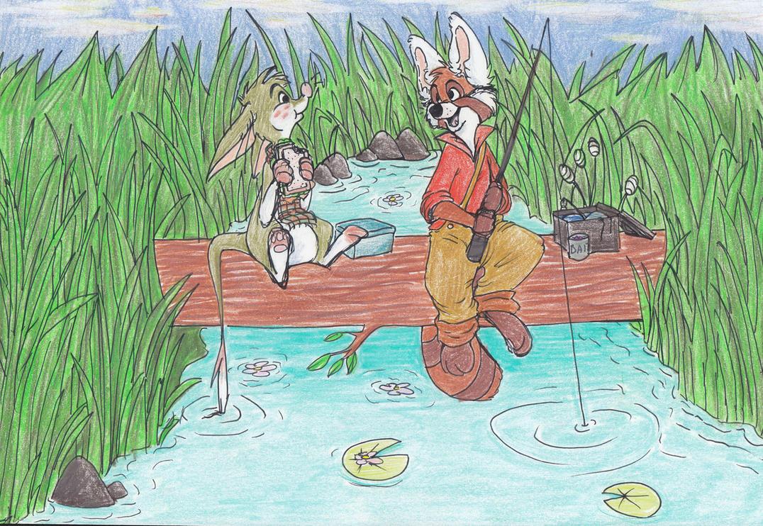 Fishin' by HighlandBilby