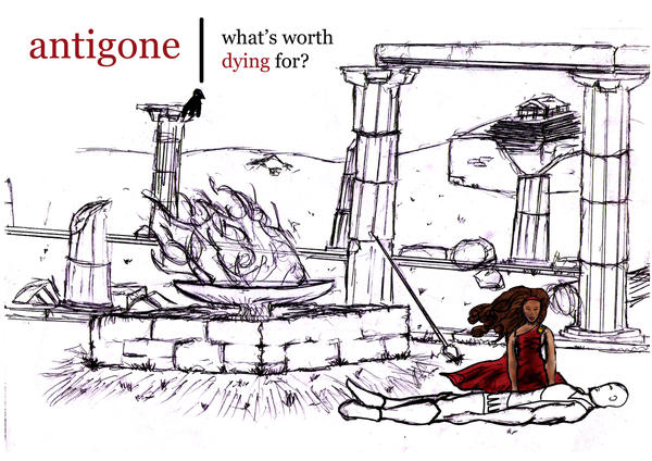 antigone written during the period of Antigone by sophocles written 442 bce translated by r c jebb antigone is led out of the palace by two of creon's attendants who are about to conduct her to.