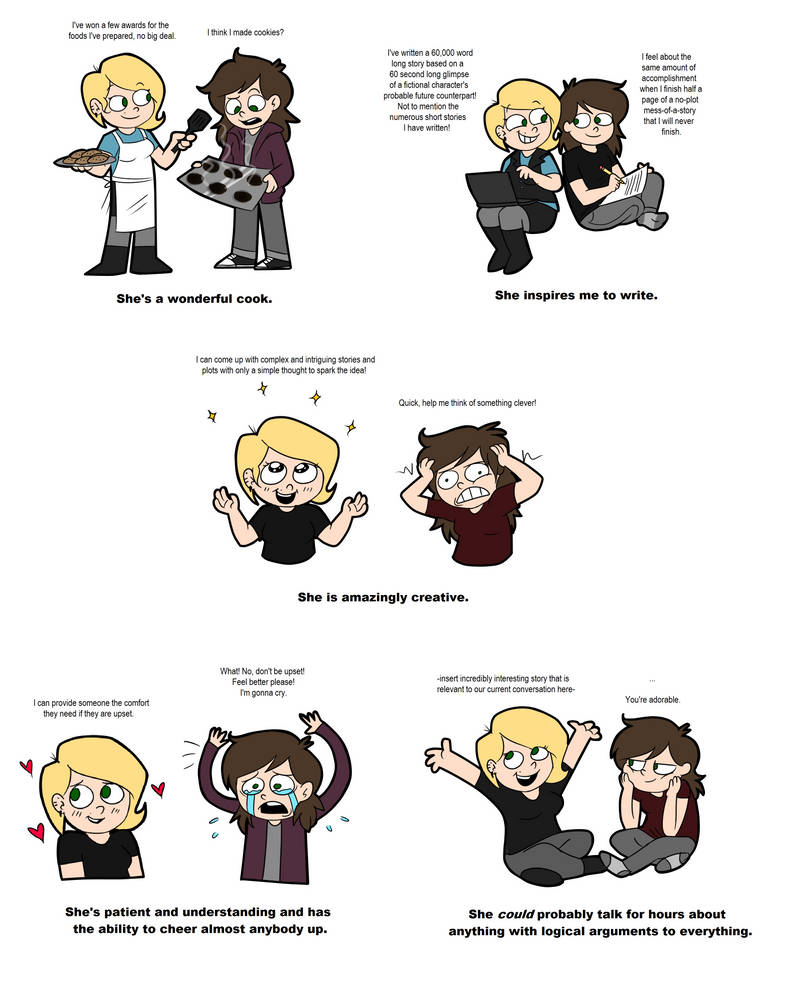 A Few Things I Love About My Girlfriend by Pyromortus on DeviantArt