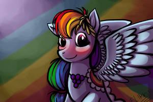 Rainbow Dash by Flikkun