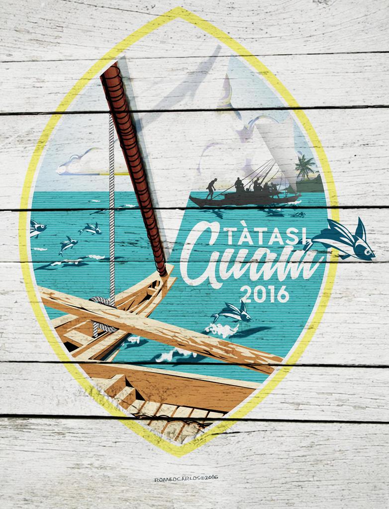 Tatasi Guam 2016 - Fishwood by romeogfx