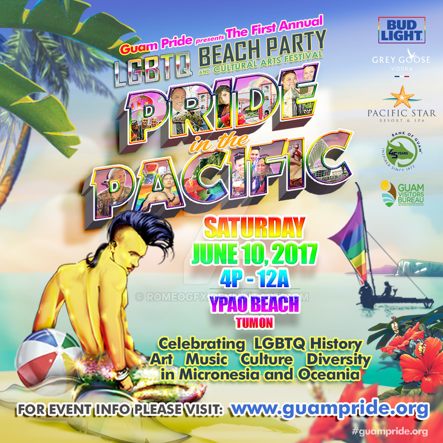 PRIDE IN THE PACIFIC 2017 (Instagram) by romeogfx