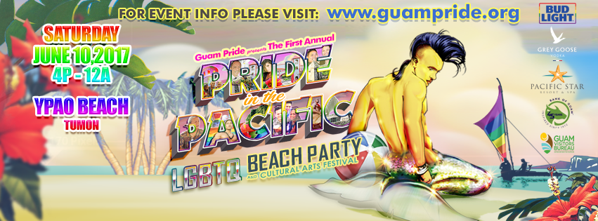 PRIDE IN THE PACIFIC 2017 (Fb cover art) by romeogfx