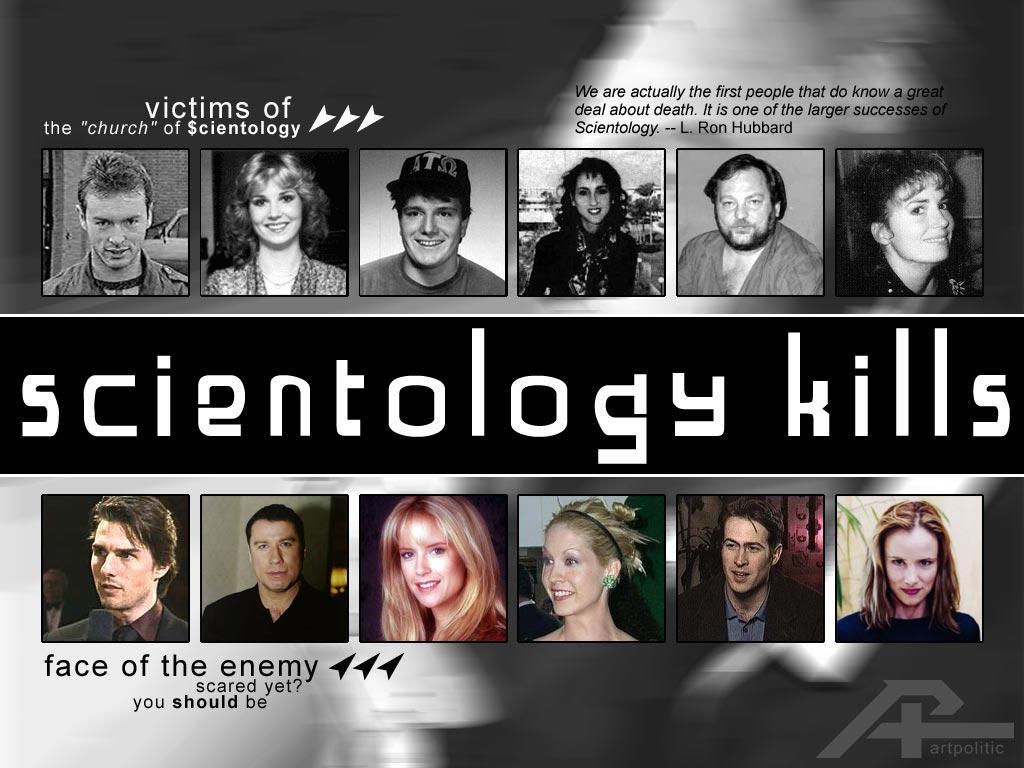 ArtPolitic - Scientology Kills by n0deal