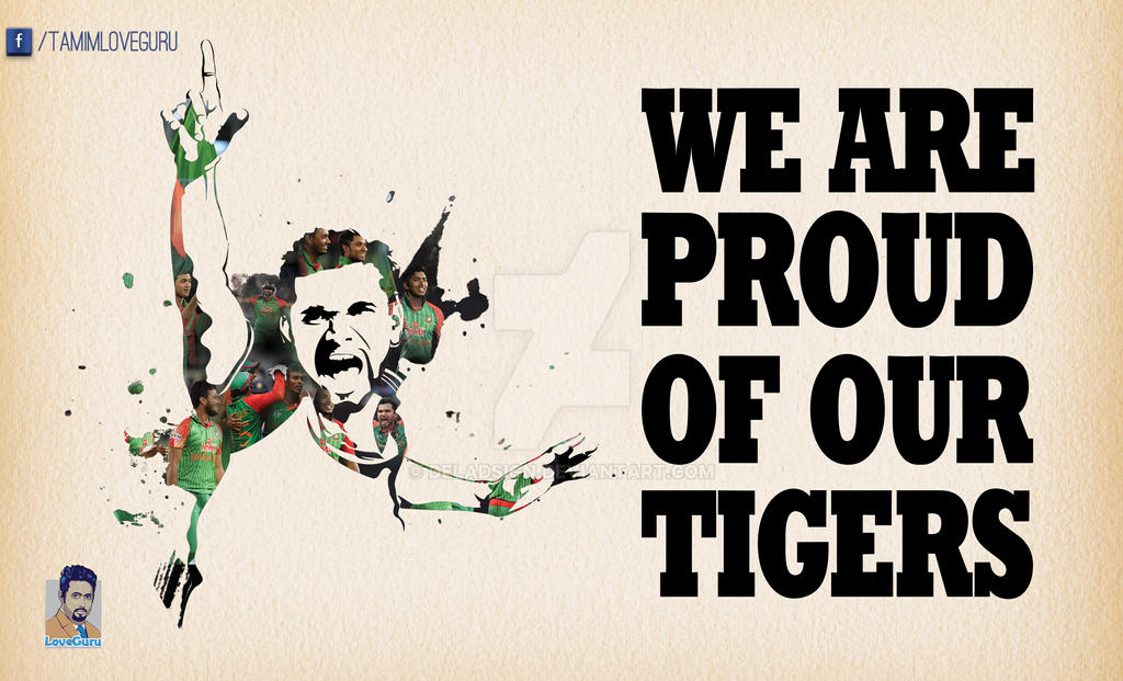 We are proud of our tigers... by deladsign