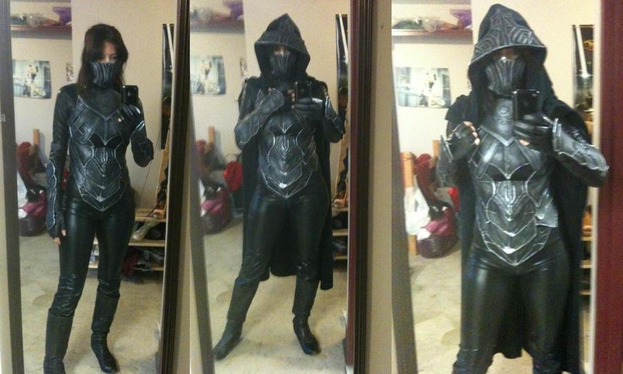 Karliah Nightingale Armor - Skyrim WIP by Aicosu