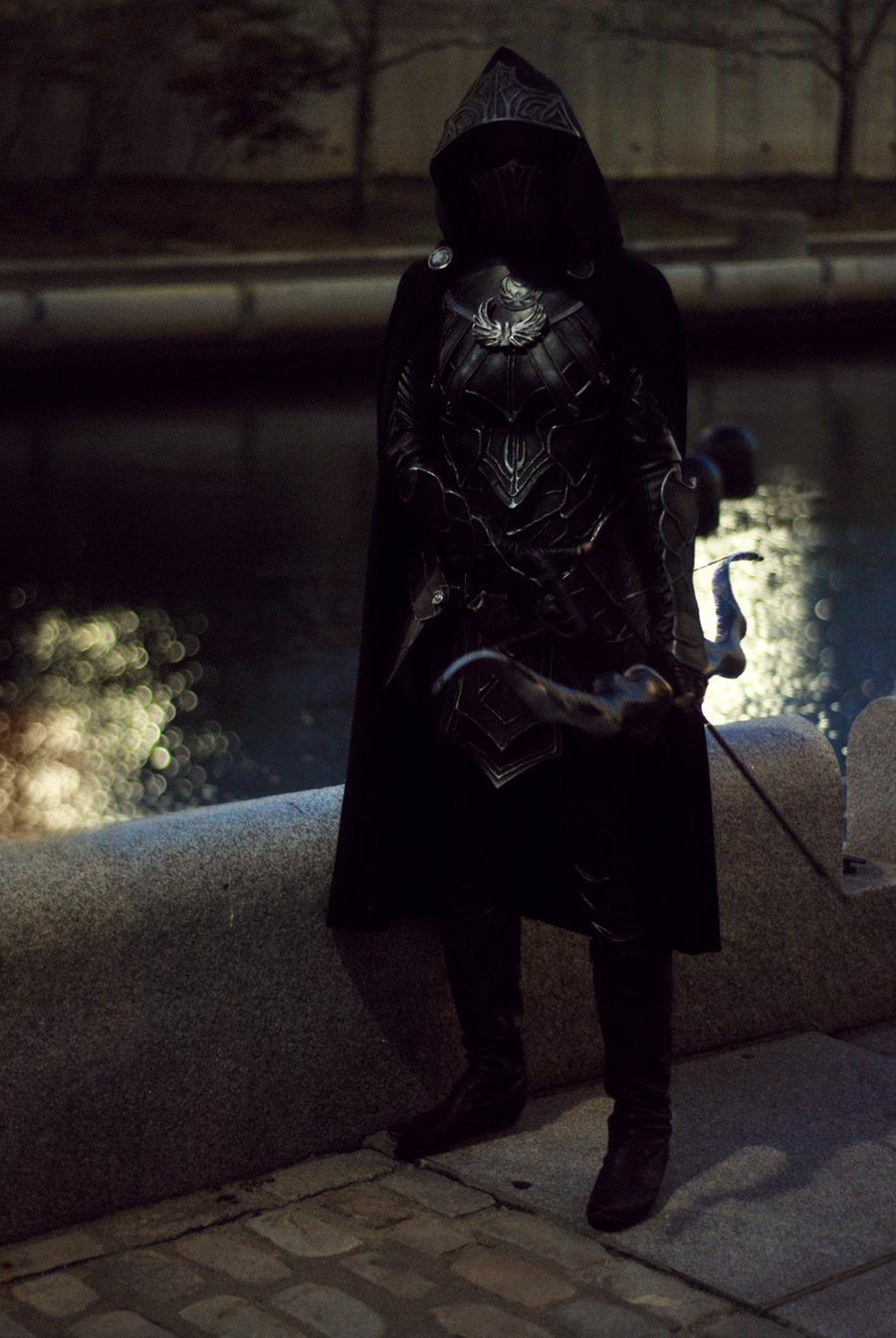 Skyrim Cosplay - Nightingale Armor by Aicosu