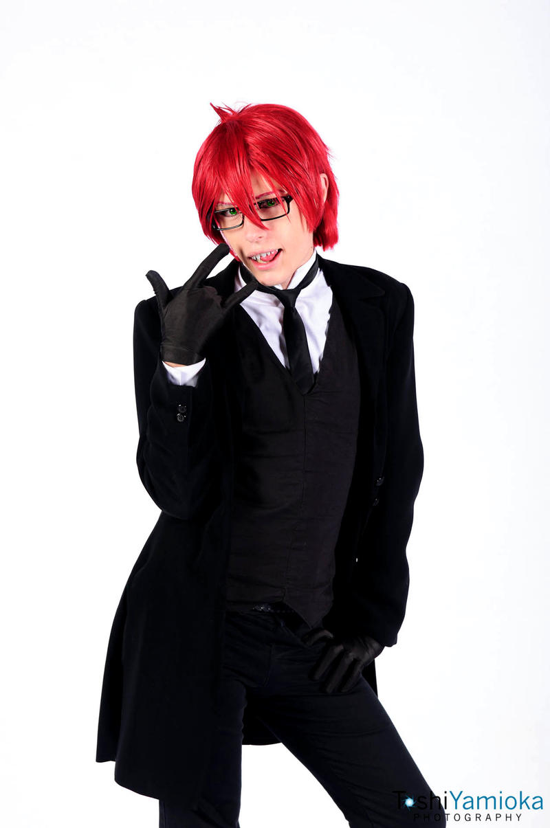 Grell Cosplay - Young Shinigami by Aicosu