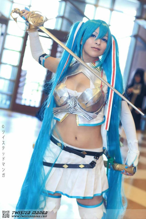 Miku Cosplay - Alteil Cards by Aicosu