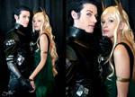 Loki and Sigyn - Punishment