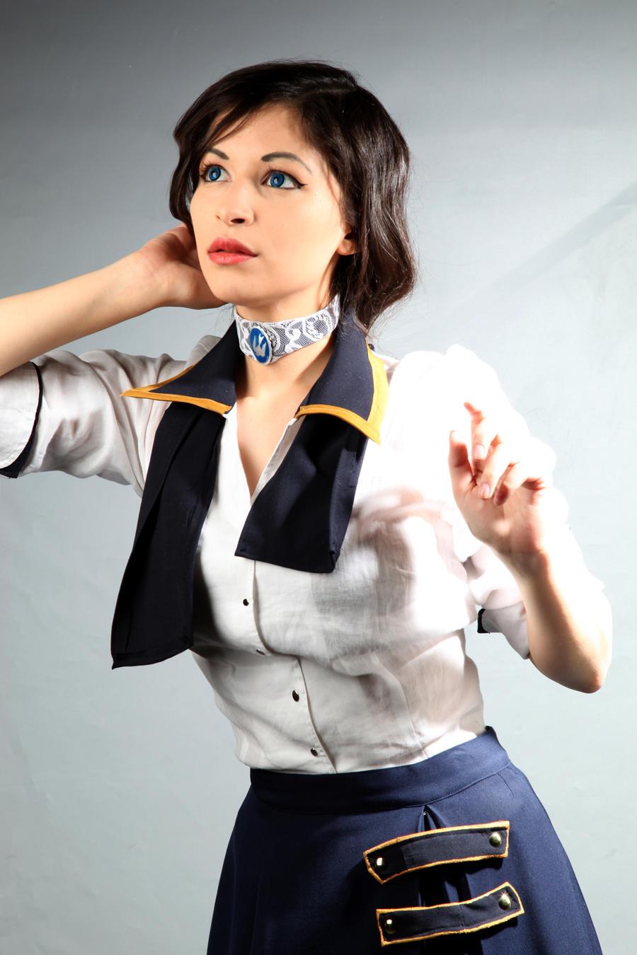 Bioshock Infinite - Elizabeth Cosplay by Aicosu