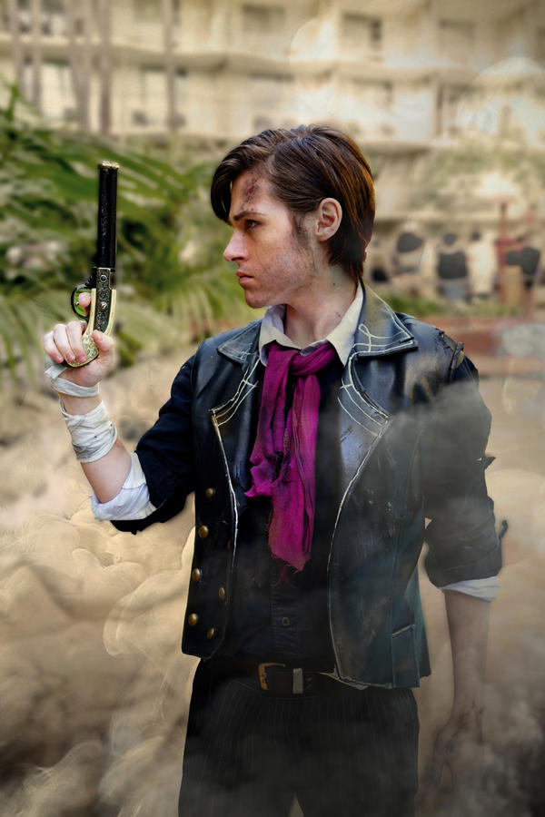 Booker Dewitt Cosplay by Aicosu