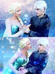 Jack Frost x Elsa - Cosplay