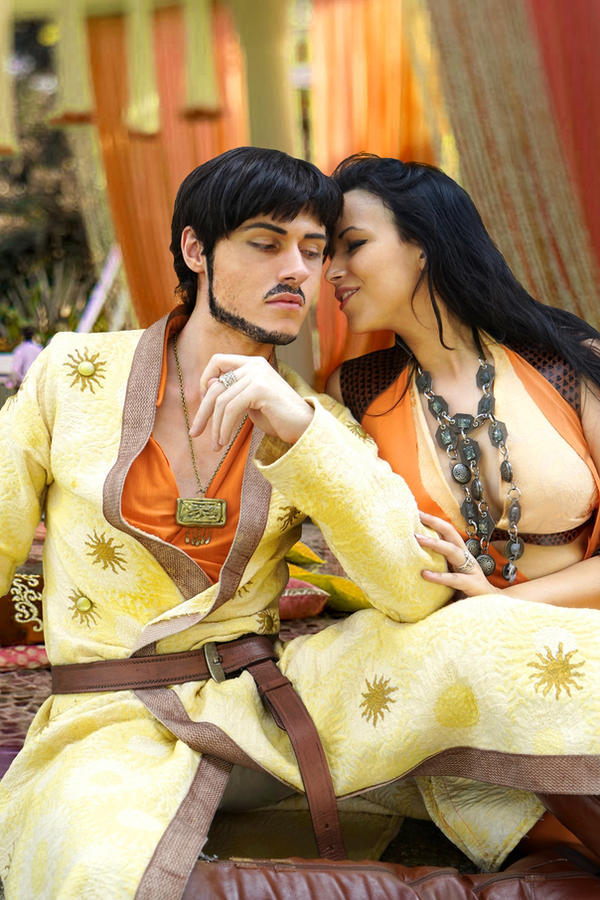 Oberyn Martell and Ellaria Sand - Cosplay by Aicosu