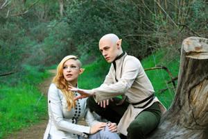 Dragon Age:I - Lessons with Solas by Aicosu