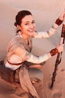 Rey Cosplay - Star Wars by Aicosu